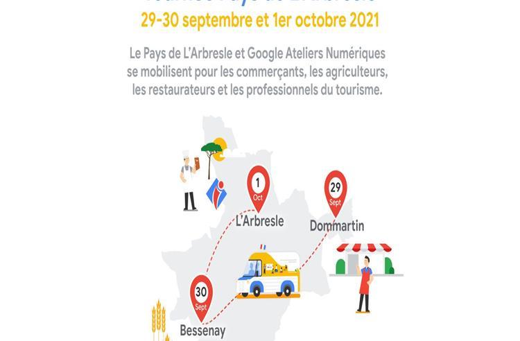 Tournée du mini-van Google dans le Pays de L'Arbresle